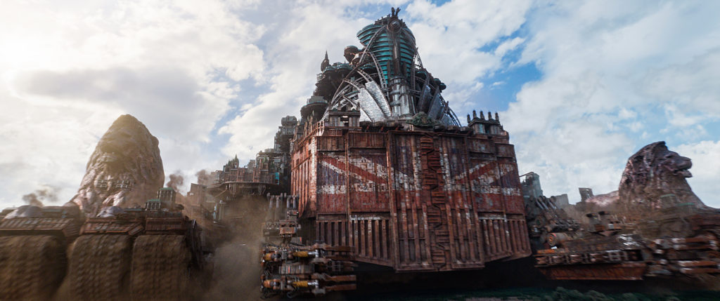 Mortal Engines © Universal Pictures 2018. Used by permission.